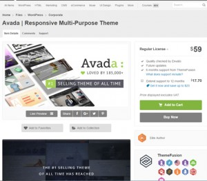 theme et plugin pour wordpress sur themeforest.net - freelance wordpress lyon
